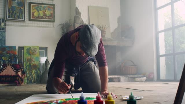 Jonge kunstenaar