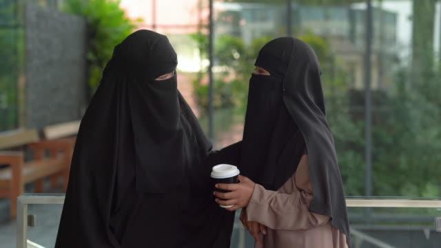 young asian muslim women , lgbtq lifestlye - female friendship stock videos & royalty-free footage