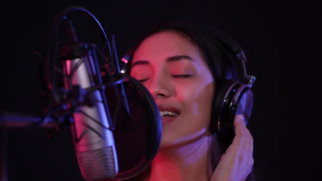 young asian women are enjoying singing - performing arts event stock videos & royalty-free footage