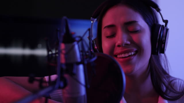 young asian women are enjoying singing - songwriter stock videos & royalty-free footage