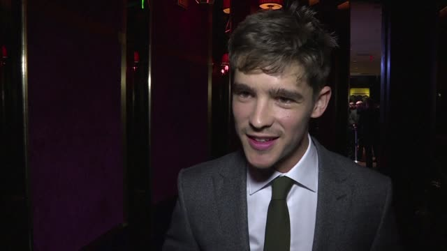 young australian actor brenton thwaites who stars in the newest film of the pirates of the caribbean franchise describes what it was like working... - javier bardem stock-videos und b-roll-filmmaterial