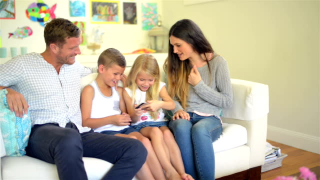 DOLLY: Young Australian family gaming