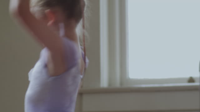 young ballerinas - ballet dancing stock videos & royalty-free footage