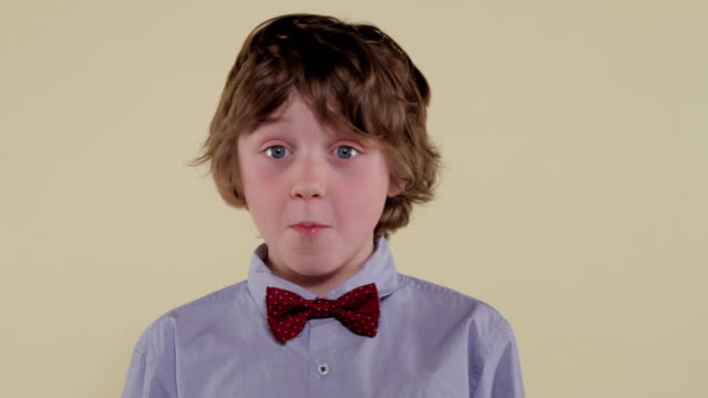 MCS young boy making facial expressions