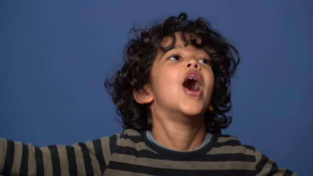 young boy roaring - mammal stock videos & royalty-free footage