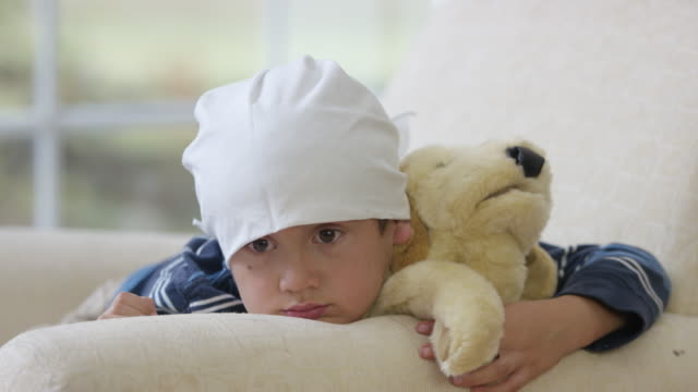 Young Boy with Cancer