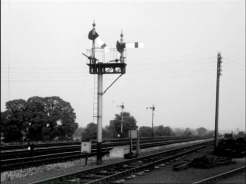 ms young boys train spotting on platform and splitting of coaches with details of how y detach and join / monmouthshire and gloucestershire, wales and england - transport conductor stock videos & royalty-free footage