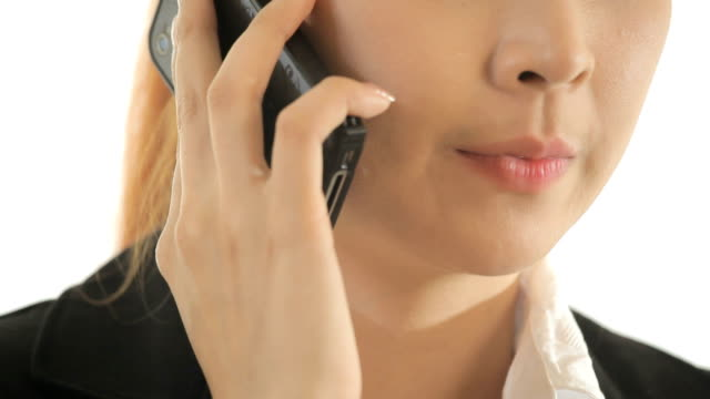 Young Business woman speaking mobile phone