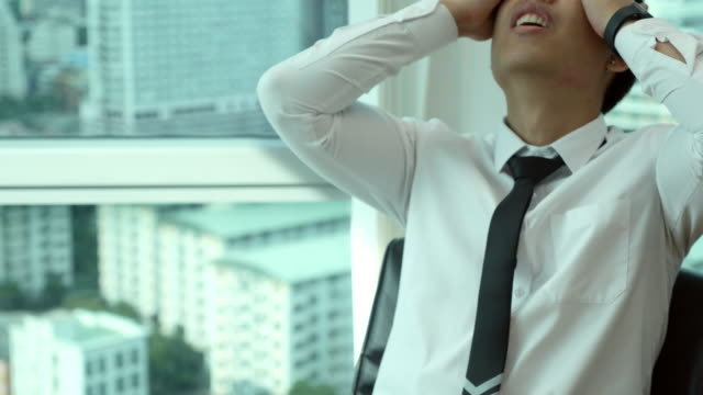 Young Businessman Stress
