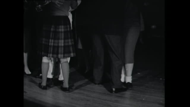 young couples dancing - 1961 stock videos & royalty-free footage