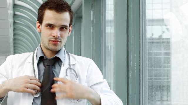 young doctor - lab coat stock videos & royalty-free footage
