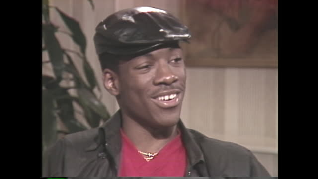 young eddie murphy on becoming a working stand-up comedian by the age of 18 - comedian stock videos & royalty-free footage