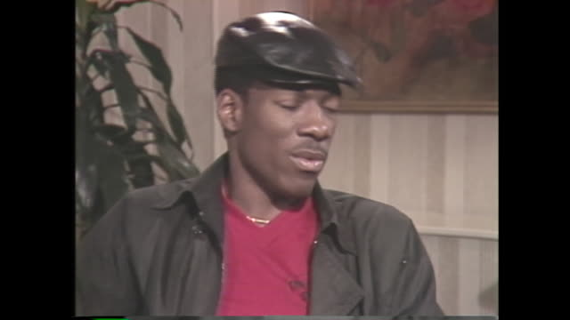 young eddie murphy on being a superstar at 21 - fame stock videos & royalty-free footage