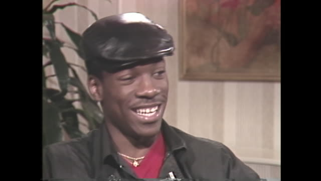 young eddie murphy shares the difficulties of fame - eddie murphy stock videos & royalty-free footage