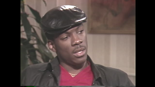 young eddie murphy talks about leaving saturday night live - eddie murphy stock videos & royalty-free footage