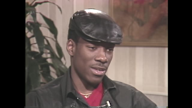 young eddie murphy talks about missing out on the college experience - eddie murphy stock videos & royalty-free footage