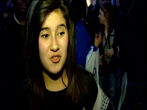 young fan talks to press after announcement of michael jackson's 'this is it' concert dates london 05 march 2009 - michael jackson stock videos and b-roll footage