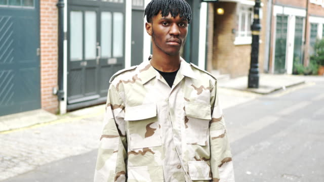 young fashionable man in london with dreadlocks - attitude stock videos & royalty-free footage