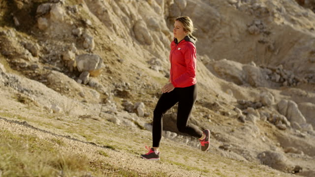 young female runner - hoozone stock videos and b-roll footage
