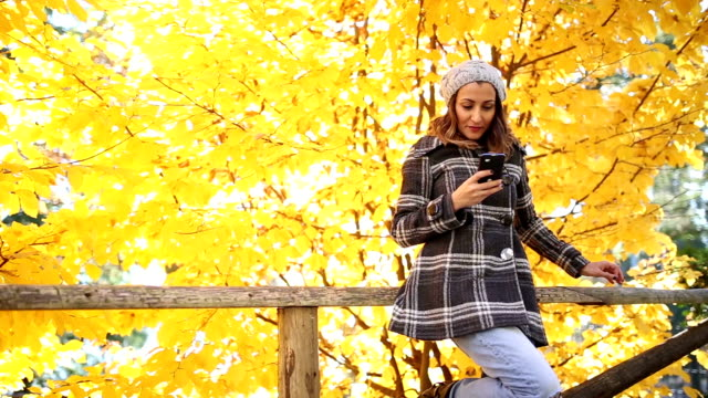 Young girl making selfie,laughing