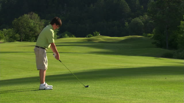young golfer - see other clips from this shoot 1271 stock videos and b-roll footage