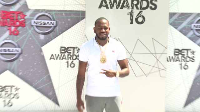 Young Greatness at 2016 BET Awards in Los Angeles CA