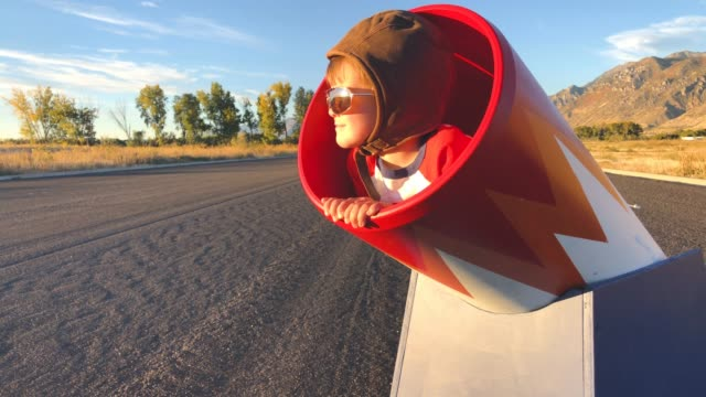 young human cannonball boy in cannon - cannon stock videos & royalty-free footage