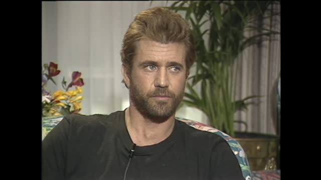 young mel gibson on acting - mel gibson stock videos and b-roll footage