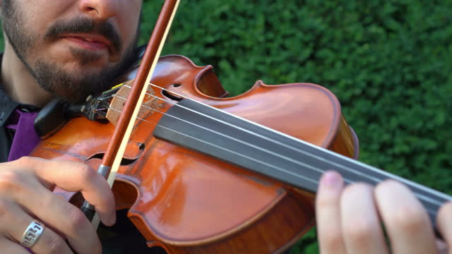 young men playing violin - violinist stock videos & royalty-free footage