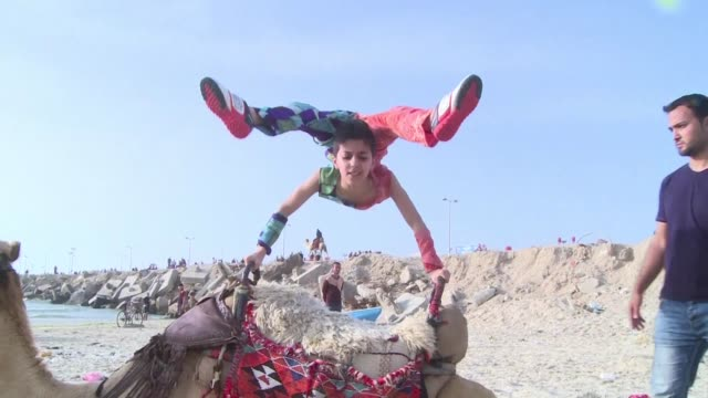 A young Palestinian contortionist known in Gaza as Spider Man has entered the Guinness book of records his trainer said Thursday