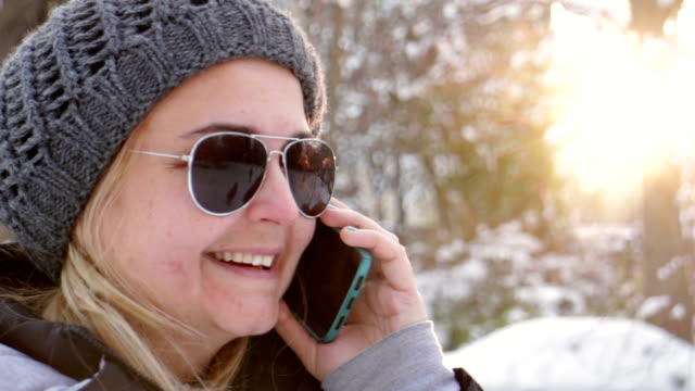 Young urban girl on the phone