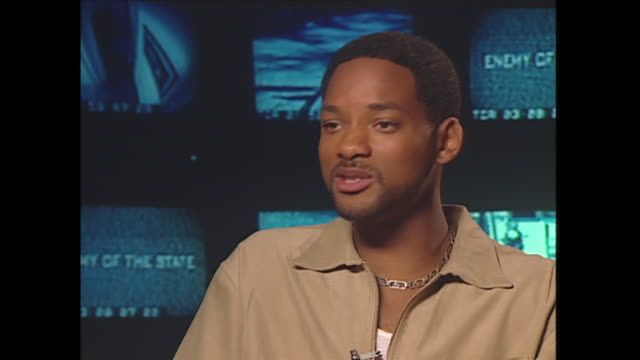 young will smith talks about what kind of dad he'll be - 俳優 ウィル・スミス点の映像素材/bロール
