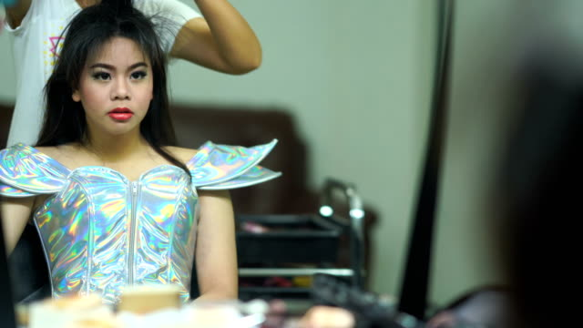 young woman in Beauty saloon