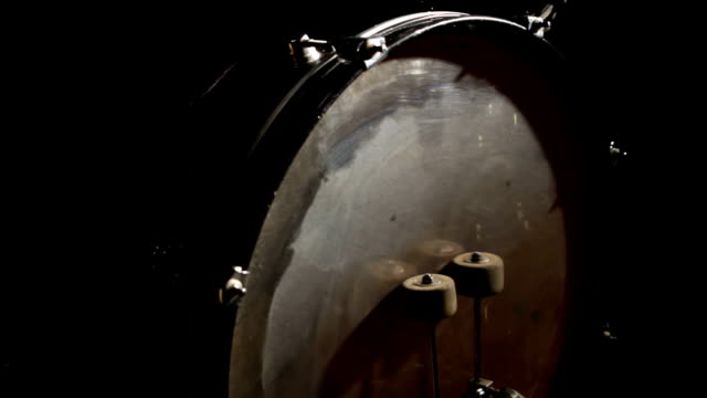 young woman plays drums - frau stock videos & royalty-free footage