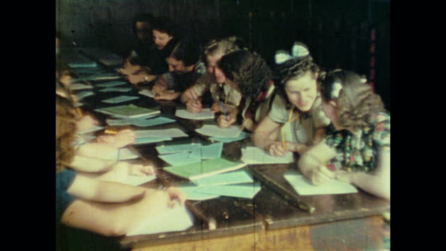 young women study at the national youth administration offices - narrating stock videos & royalty-free footage