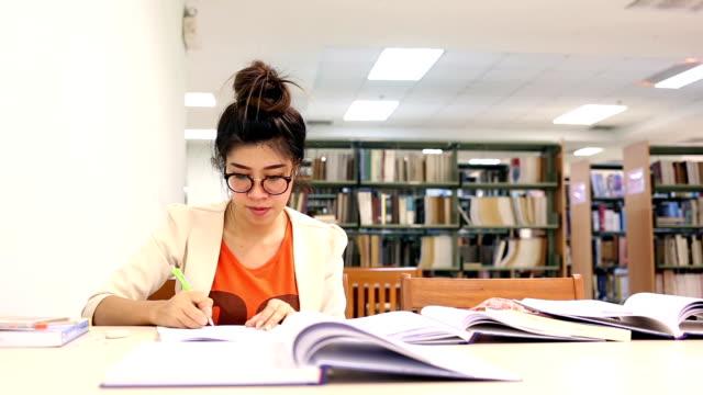 Young women study