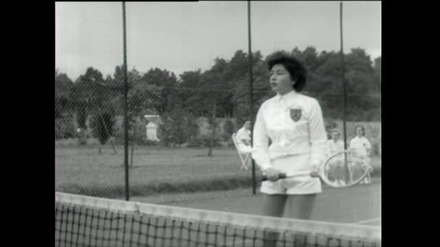 young women take part in various sporting activities; 1955 - horse family stock videos & royalty-free footage