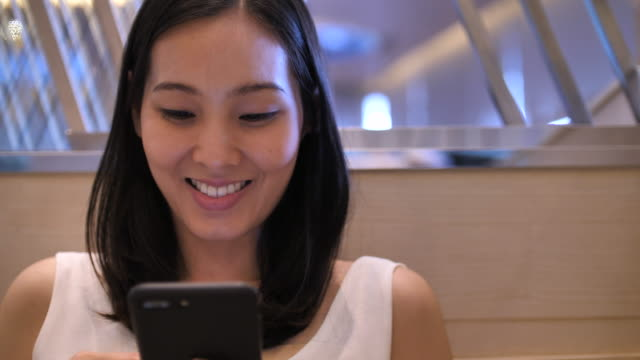 young women using phone - only japanese stock videos & royalty-free footage