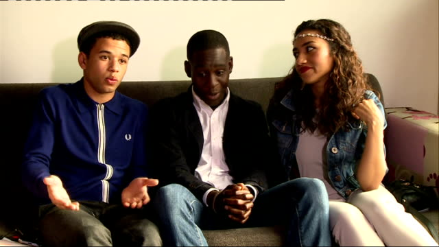 Youngers cast interview Demba Oyefeso and Seth interview SOT on who the biggest flirt on set is on wrap parties on who the biggest party animal is on...