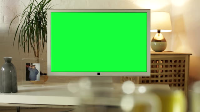 tv your ad      id - television chroma key stock videos & royalty-free footage