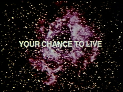 your chance to live: earthwatch - 2 of 13 - chance stock videos and b-roll footage