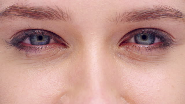 your eyes sparkle when you smile - skin feature stock videos & royalty-free footage
