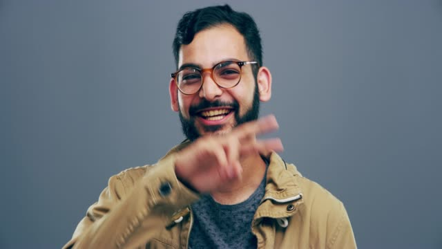 your smile could inspire someone! - v sign stock videos & royalty-free footage