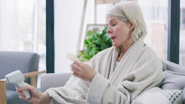vidéos et rushes de votre température en dit long - illness