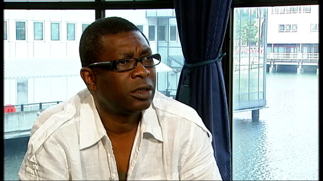 youssou n'dour interview sot saying he now dedicates all his music and energy to go to informing people about malaria how do you see your music... - microscopic animal stock videos & royalty-free footage