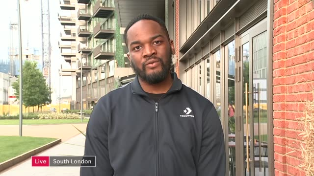 youth activist jeremiah emmanuel signed to merky books; england: london: gir: ext jeremiah emmanuel live 2-way interview from south london sot. - signierstunde stock-videos und b-roll-filmmaterial