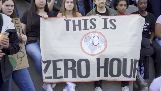 Youth Climate Strike Students of all ages rallied in downtown Manhattan's City Hall Park and marched uptown to Columbus Circle where they rallied...