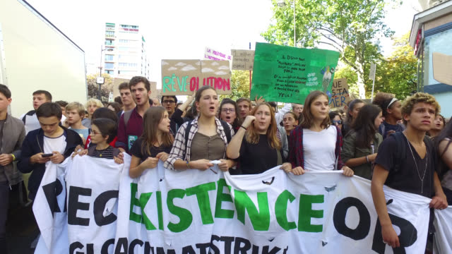 youth march for the climate - climate stock videos & royalty-free footage