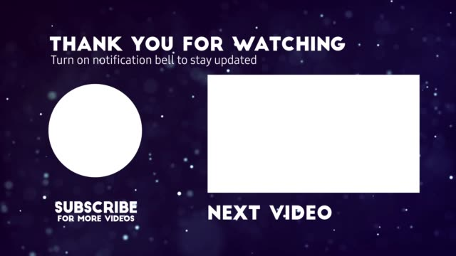 youtube end screen video card template for your channel. watch next screens and subscribe button. v4 - subscribe stock videos and b-roll footage