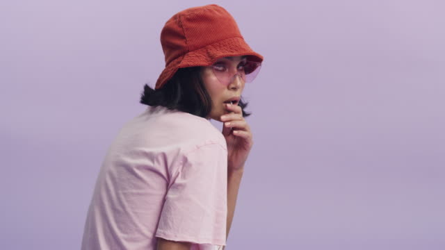 you've got style girl! - lollipop stock videos & royalty-free footage